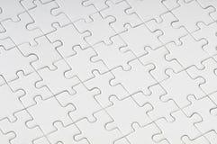 Puzzle vuoto Fotografie Stock