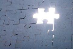 Puzzle wall stock photos