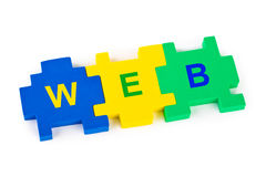 Puzzle WEB Stock Photos