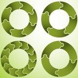 Puzzle Wheel Royalty Free Stock Photos