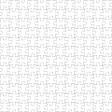 Puzzle White Pieces Seamless Background, Blank Jigsaw Pattern. Puzzle White Pieces Seamless Background, Blank Complete Jigsaw Pattern Royalty Free Stock Image