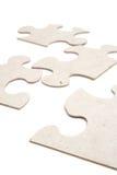 puzzle white pionowe Zdjęcie Royalty Free