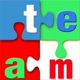 puzzle zespołu Zdjęcie Stock