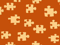 Puzzled. Illustrational pattern Royalty Free Stock Photos