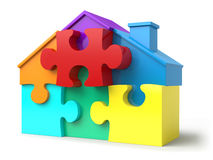 Free Puzzled Home Stock Photo - 6377920