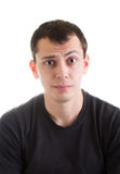 Puzzled young man Royalty Free Stock Photography
