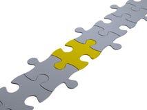 Puzzlekette Lizenzfreies Stockbild