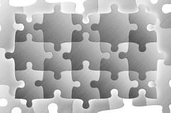 Puzzles. (fifteen elements and same as background Royalty Free Stock Photography