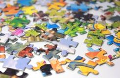 Puzzles Image libre de droits