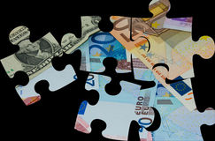 Puzzles Royalty Free Stock Image