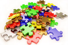 Puzzles Royalty Free Stock Images