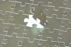 Puzzles. For background. business concept Royalty Free Stock Images