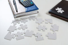 puzzles Image stock