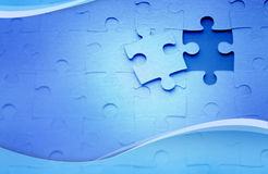 Puzzles background Royalty Free Stock Image