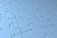Puzzles background Stock Photos