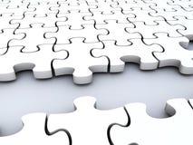 puzzles de concept Image libre de droits