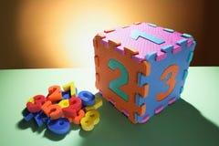 Puzzles de numéro Image libre de droits