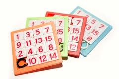 Puzzles de numéros Image stock