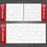 Puzzles denteux Image libre de droits
