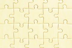 Puzzles denteux en bois images libres de droits
