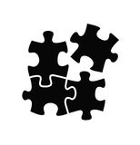 Puzzles icon Stock Images
