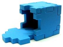 Puzzlespiel - öffnen Sie Lizenzfreie Stockbilder
