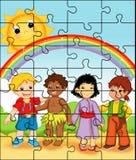 Puzzlespiel 1 Lizenzfreie Stockfotos