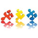 Puzzlespiel Lizenzfreies Stockbild