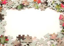 Puzzlespiel Stockbild