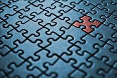 Puzzlespiel Stockfoto