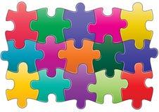 Puzzlespiel Lizenzfreie Stockfotografie