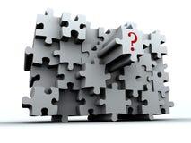 Puzzlespiel 4 Lizenzfreies Stockbild