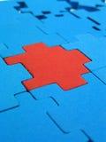 Puzzlespiel - Ausweichlösung Stockfoto