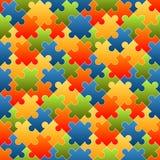 Puzzlespiel bessert den Hintergrund aus, der - endlos gefärbt wird vektor abbildung