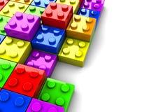 Puzzlespiel blockt Hintergrund lizenzfreie abbildung