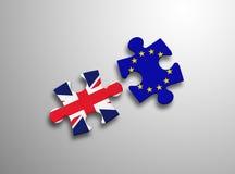 Puzzlespiel-Europäische Gemeinschaft Vereinigtes Königreich Stockfotos