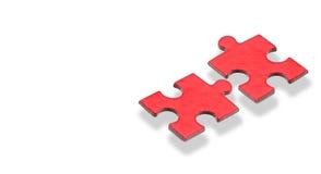 Puzzlespiel für Geschäftskonzept Lizenzfreie Stockbilder