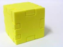 Puzzlespiel - GELB Lizenzfreies Stockbild