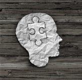 Puzzlespiel-Hauptlösung Lizenzfreies Stockbild