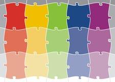 Puzzlespiel-Hintergrund 02 Lizenzfreies Stockfoto