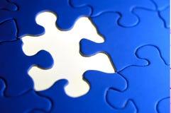 Puzzlespiel-Hintergrund Stockfotografie