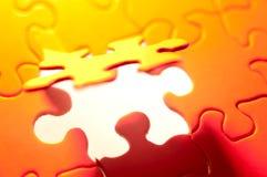 Puzzlespiel-Hintergrund stockbild