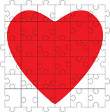 Puzzlespiel-Inneres vektor abbildung