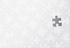 Puzzlespiel mit einem fehlenden Stück Stockfotografie