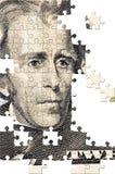 Puzzlespiel mit fehlenden Stücken Stockfotografie