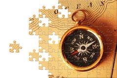 Puzzlespiel mit fehlenden Stücken Lizenzfreie Stockfotos