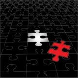 Puzzlespiel-Plan Lizenzfreie Stockfotografie