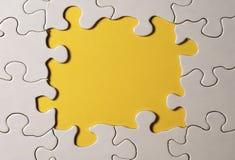 Puzzlespiel-Rand Lizenzfreie Stockfotos