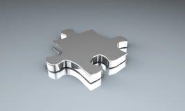 Puzzlespiel-Stück Lizenzfreies Stockbild