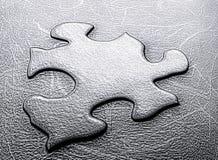 Puzzlespiel-Stück Lizenzfreies Stockfoto